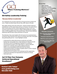 Safety Leadership Training